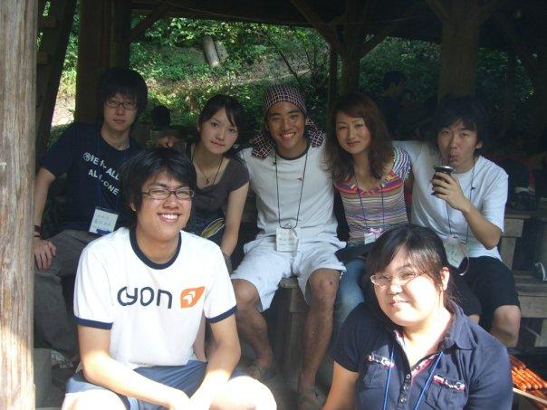 オリエンテーションキャンプのオーガナイザー(UWC卒業後2年目の卒業生)