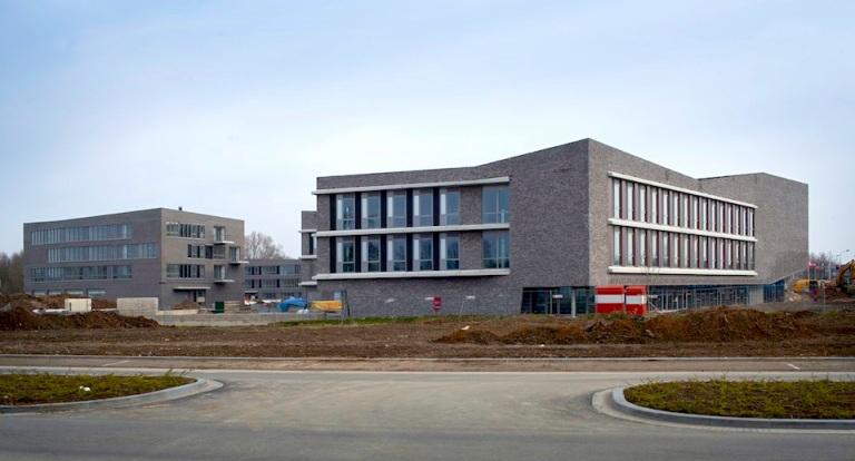 2013年度から使用予定のキャンパスの様子